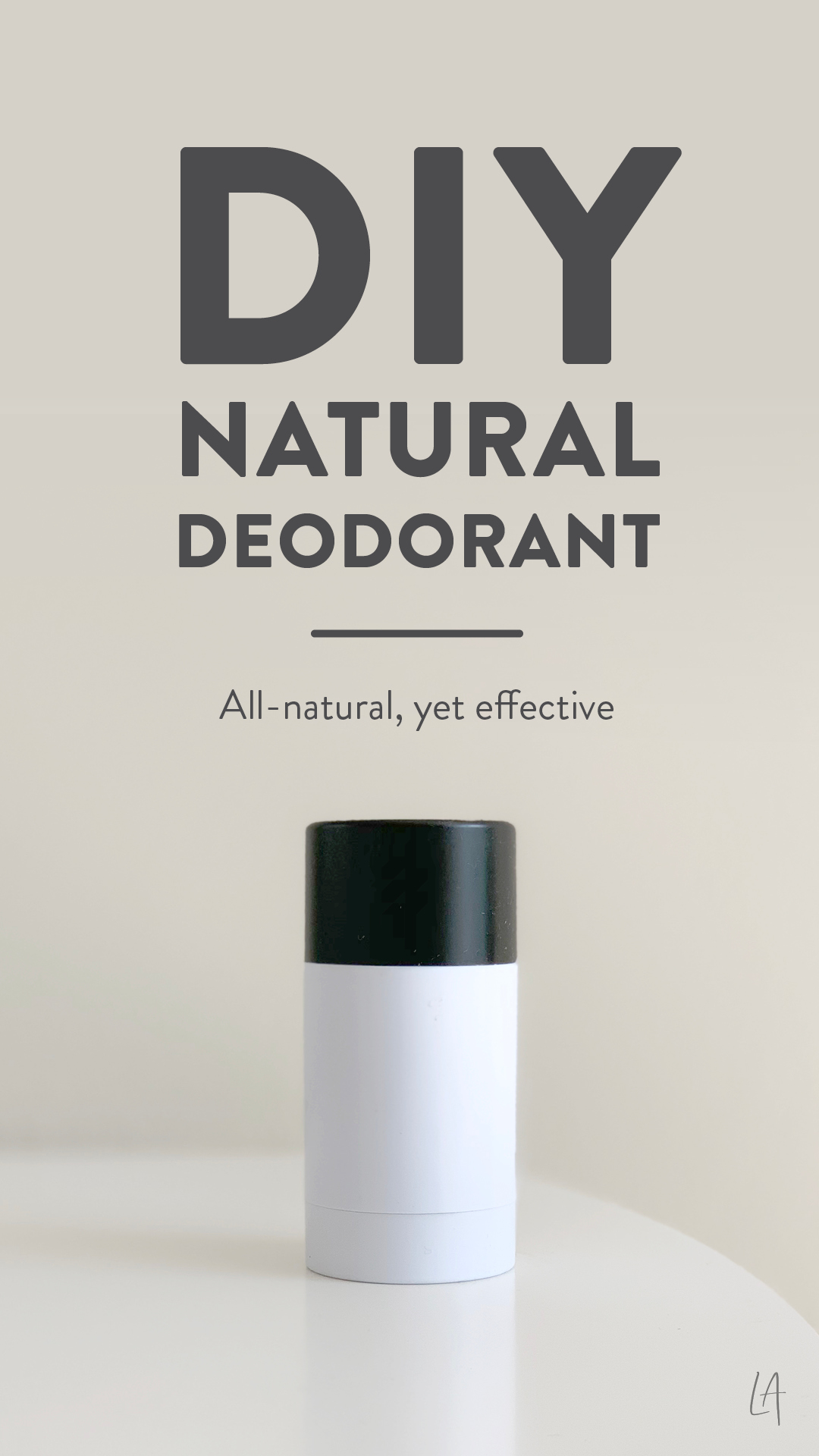 DIY Natural deodorant image