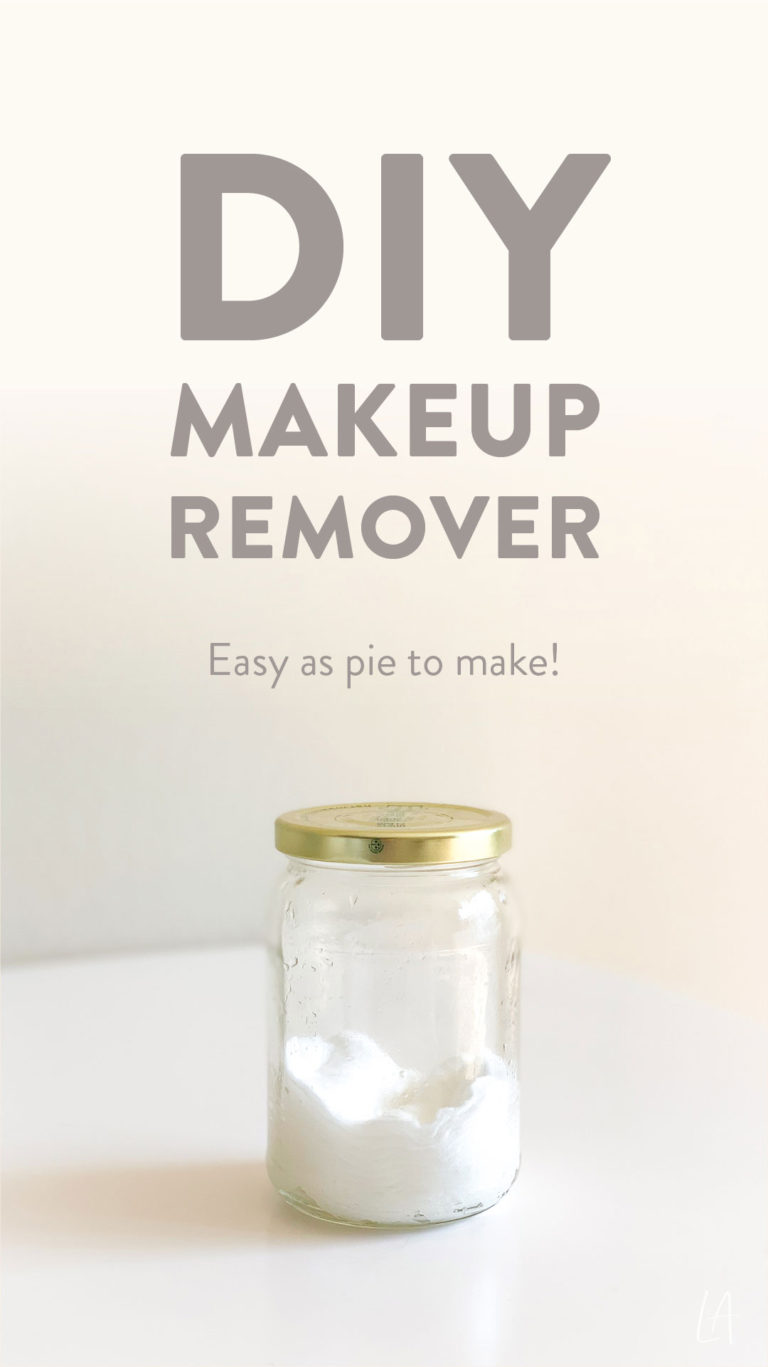 Easy DIY Makeup Remover | Plant-based skincare