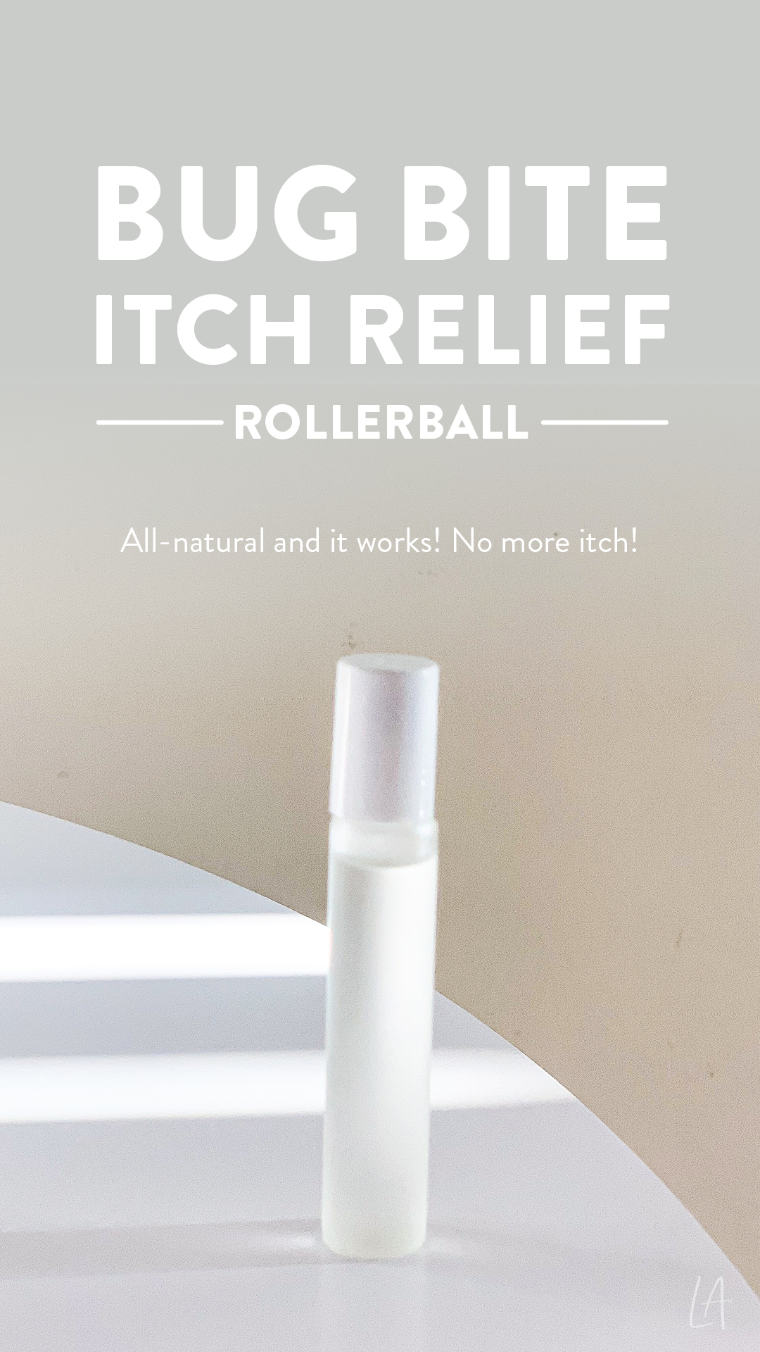Bug bite itch relief rollerball
