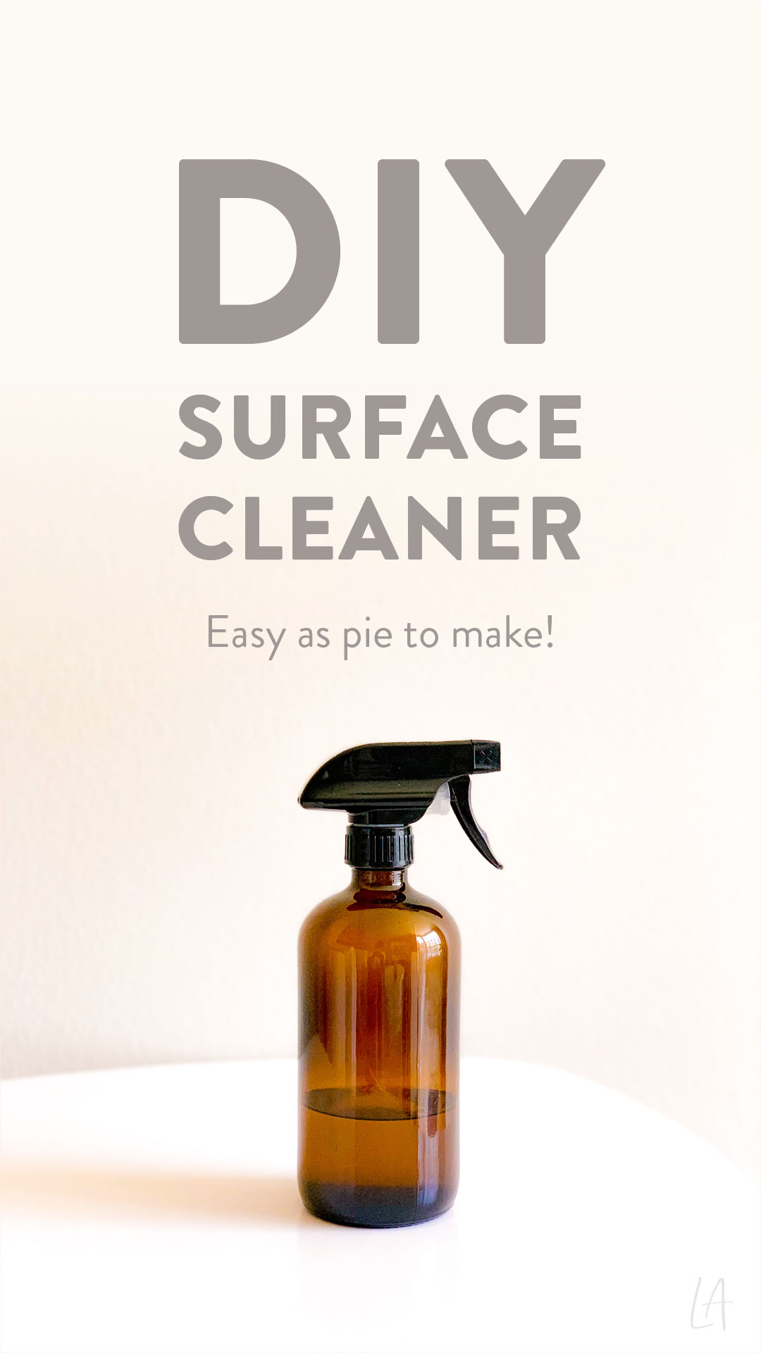 DIY Surface cleaner
