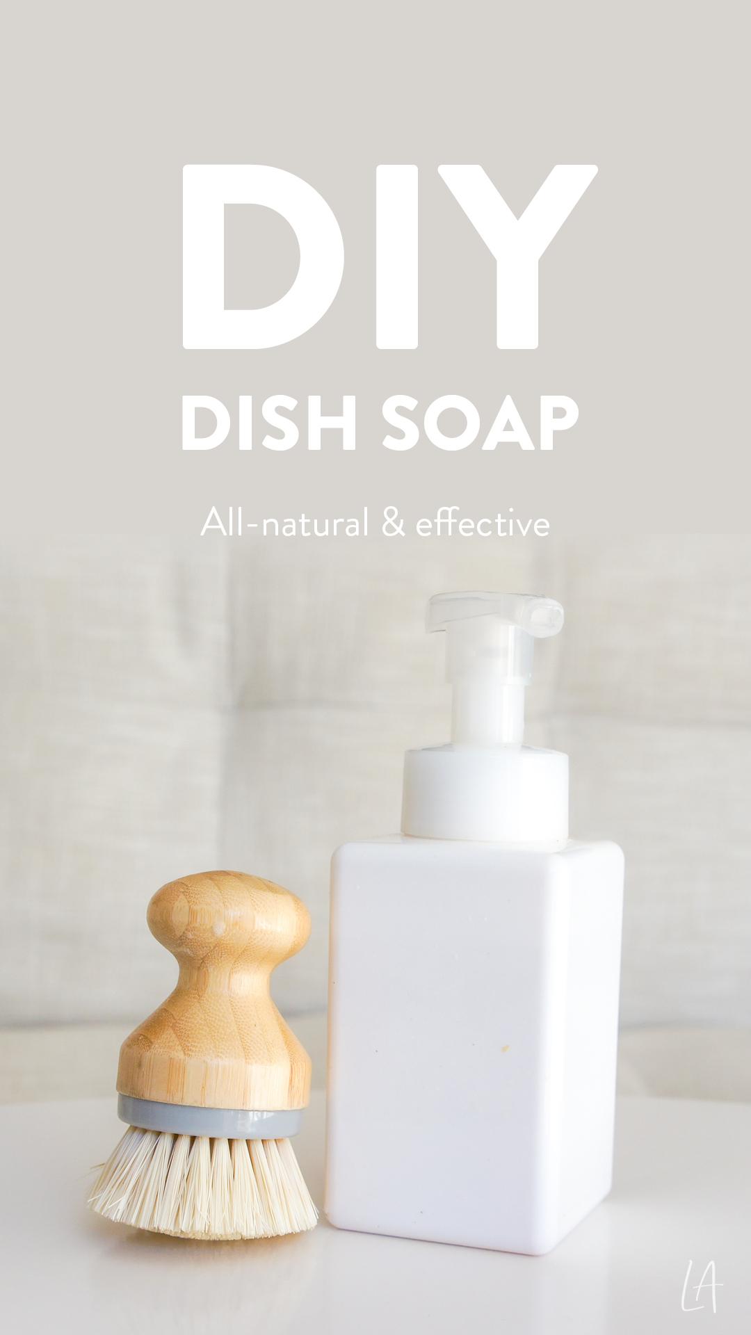 DIY Dish soap, All-natural & effective