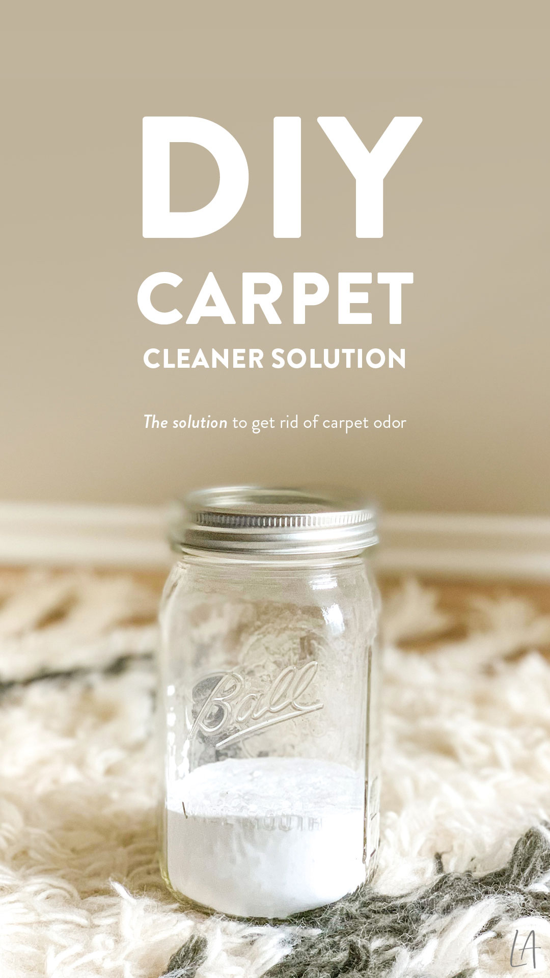 DIY Carpet Cleaner Solution - The best way to get rid of carpet odor