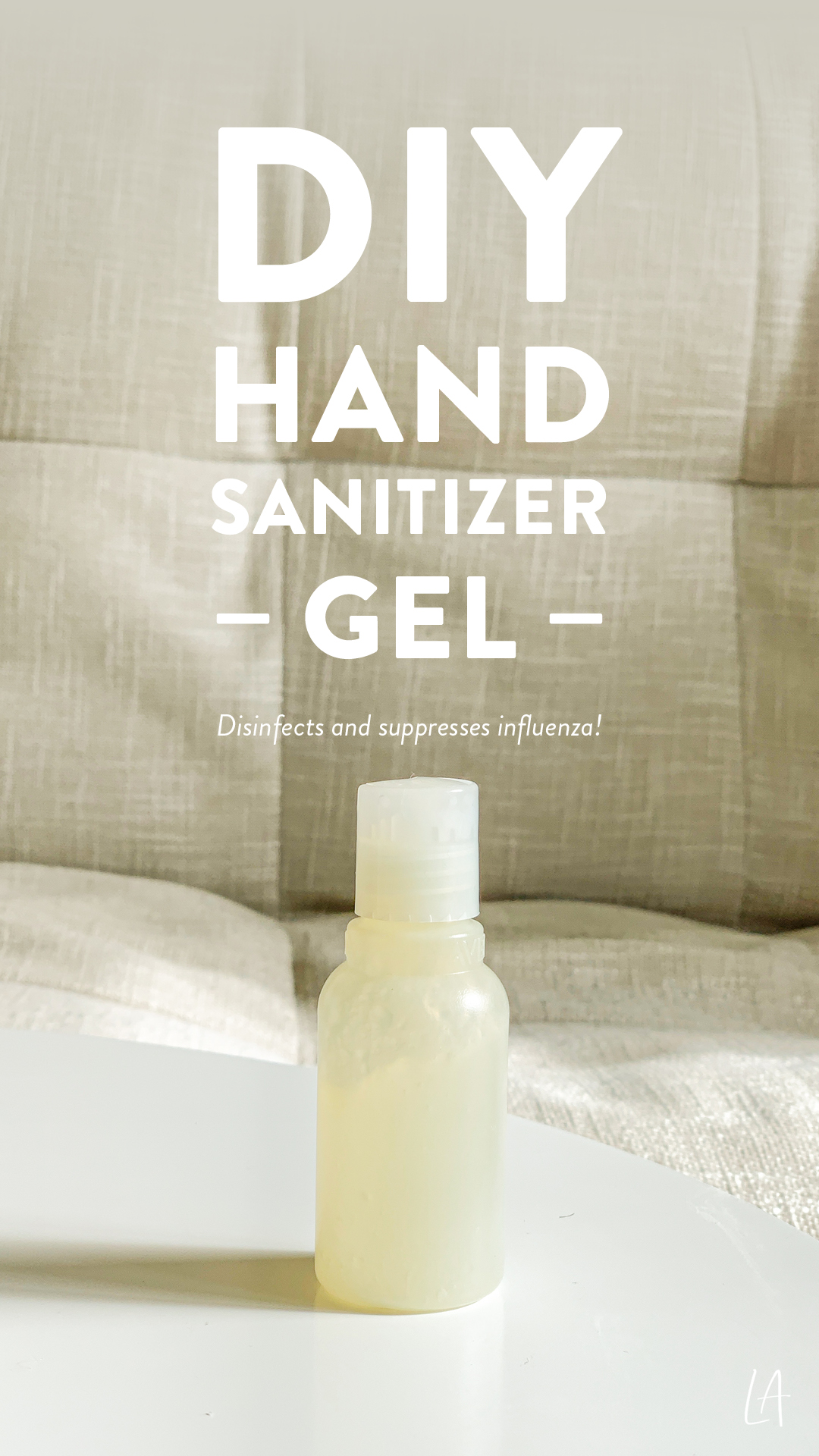 DIY Hand Sanitizer gel