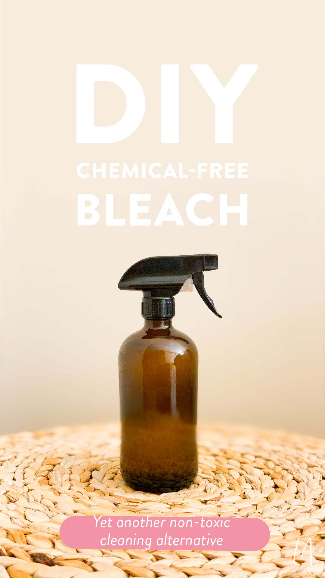 How to make chemical-free bleach