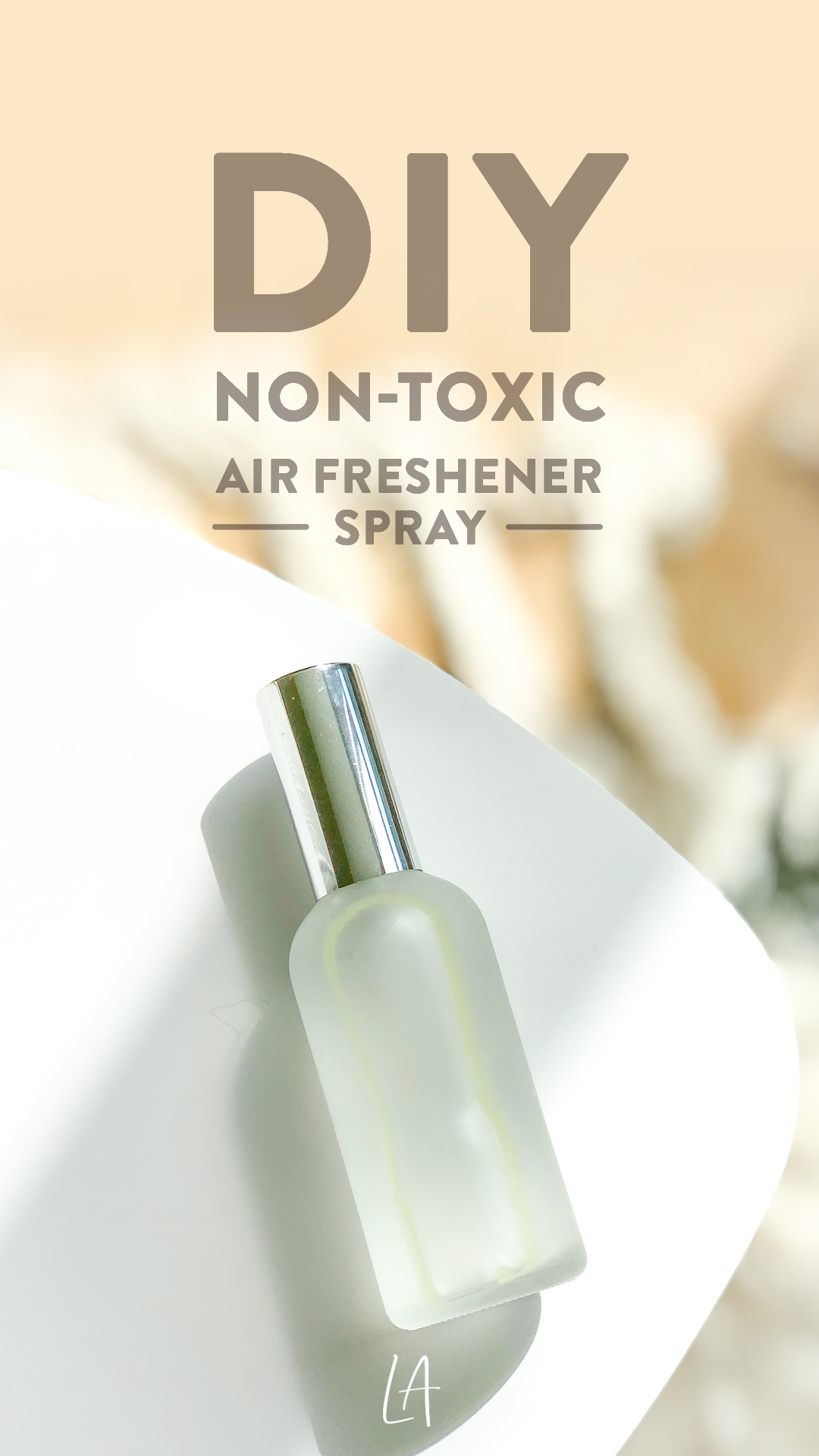 DIY Non-toxic air freshener spray