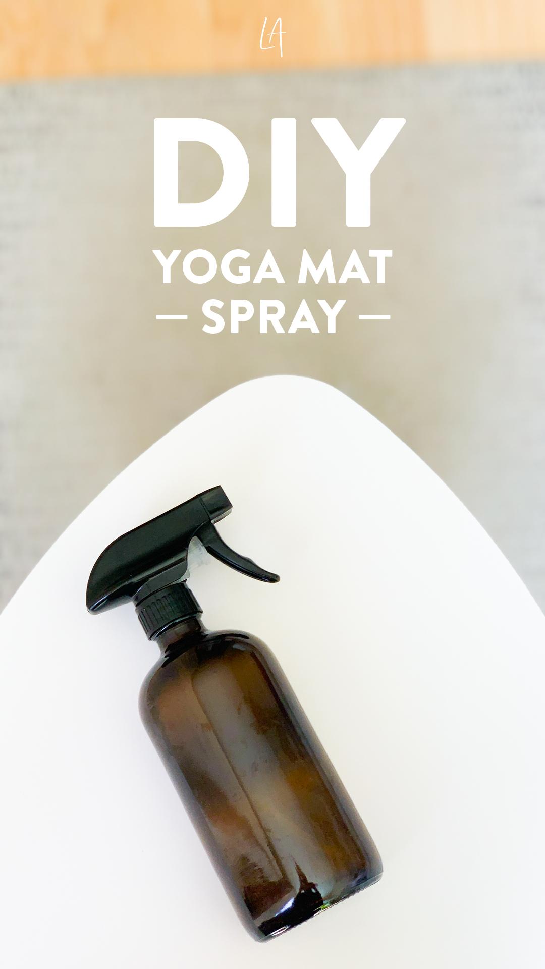 DIY Yoga mat spray without alcohol