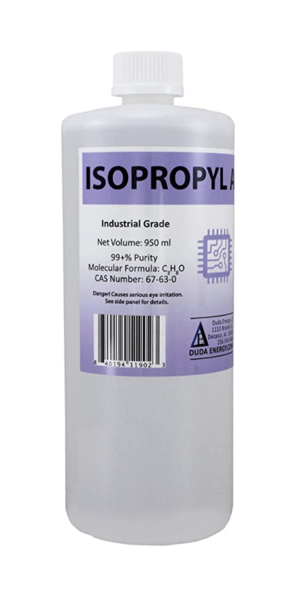Pure isopropyl alcohol