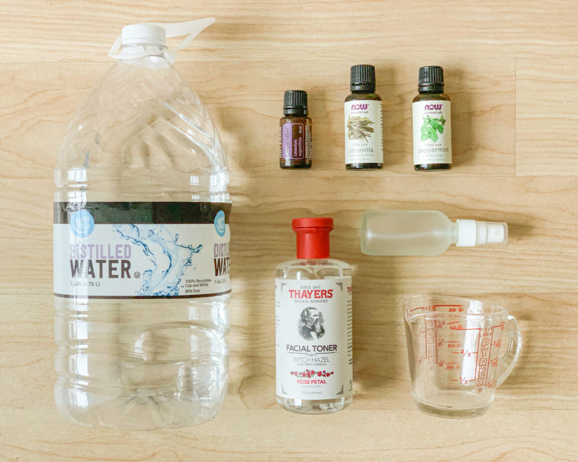 Make your own bug repellent