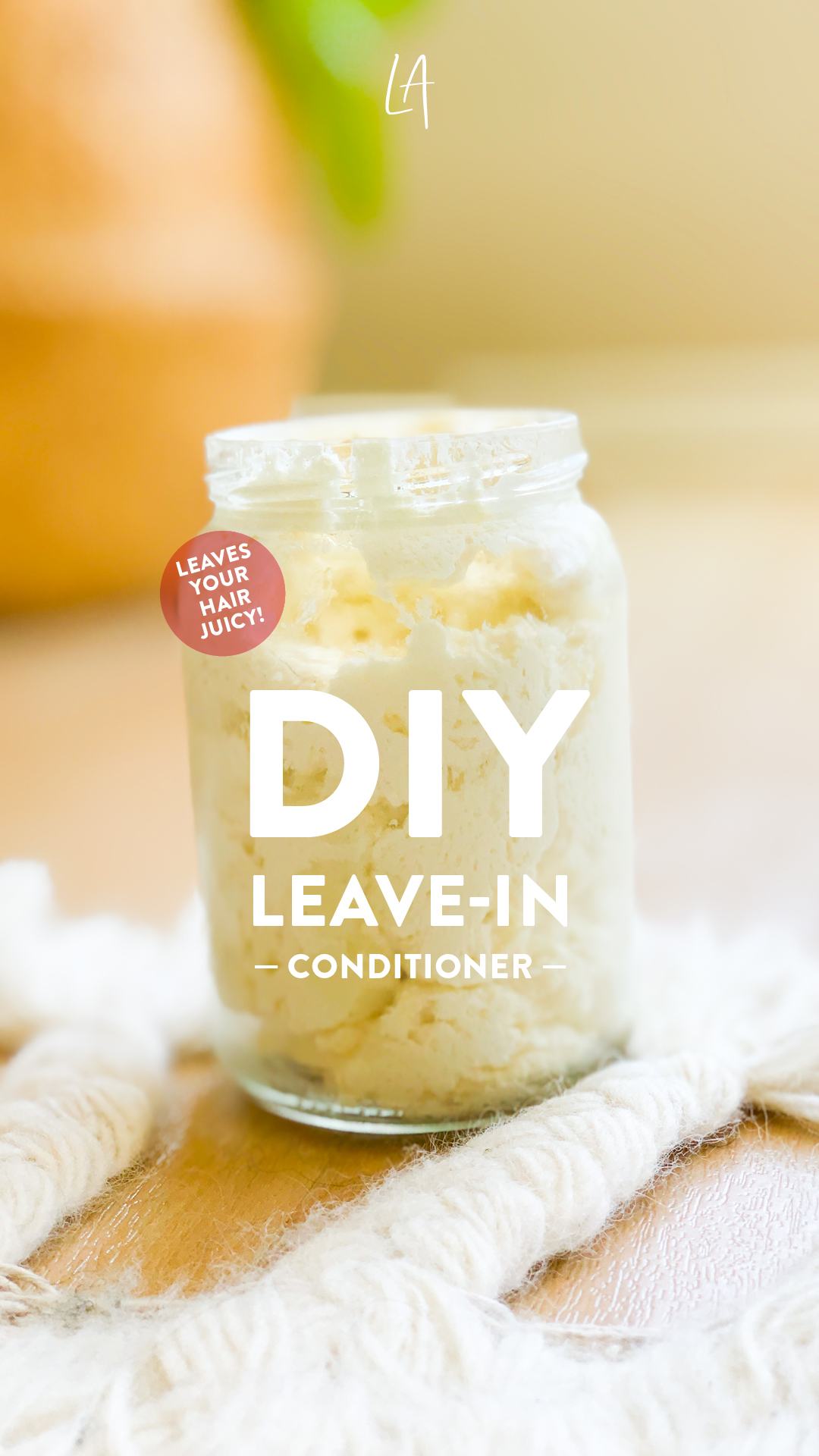 How to make leave-in conditioner at home