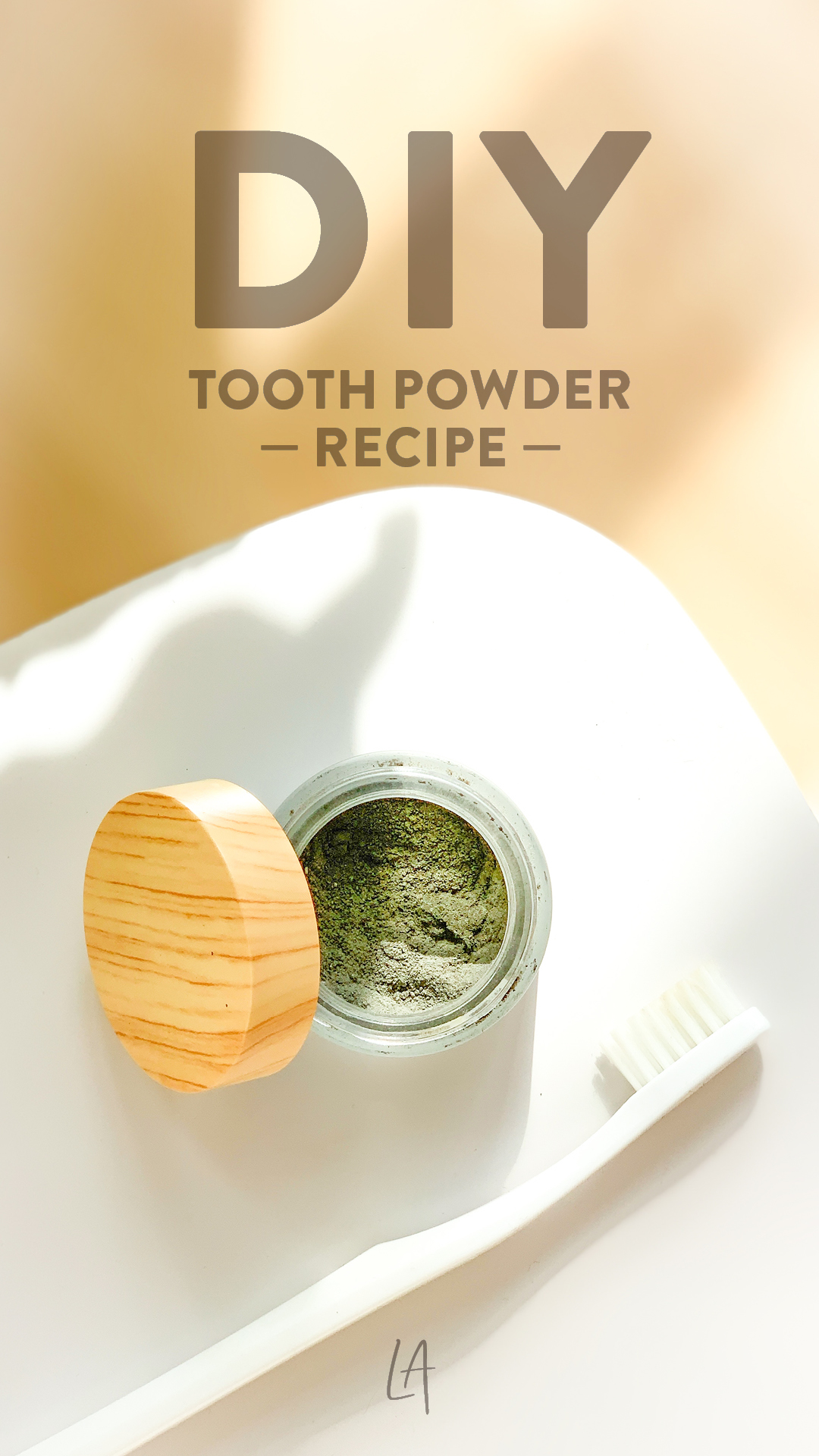 Easy tooth powder recipe