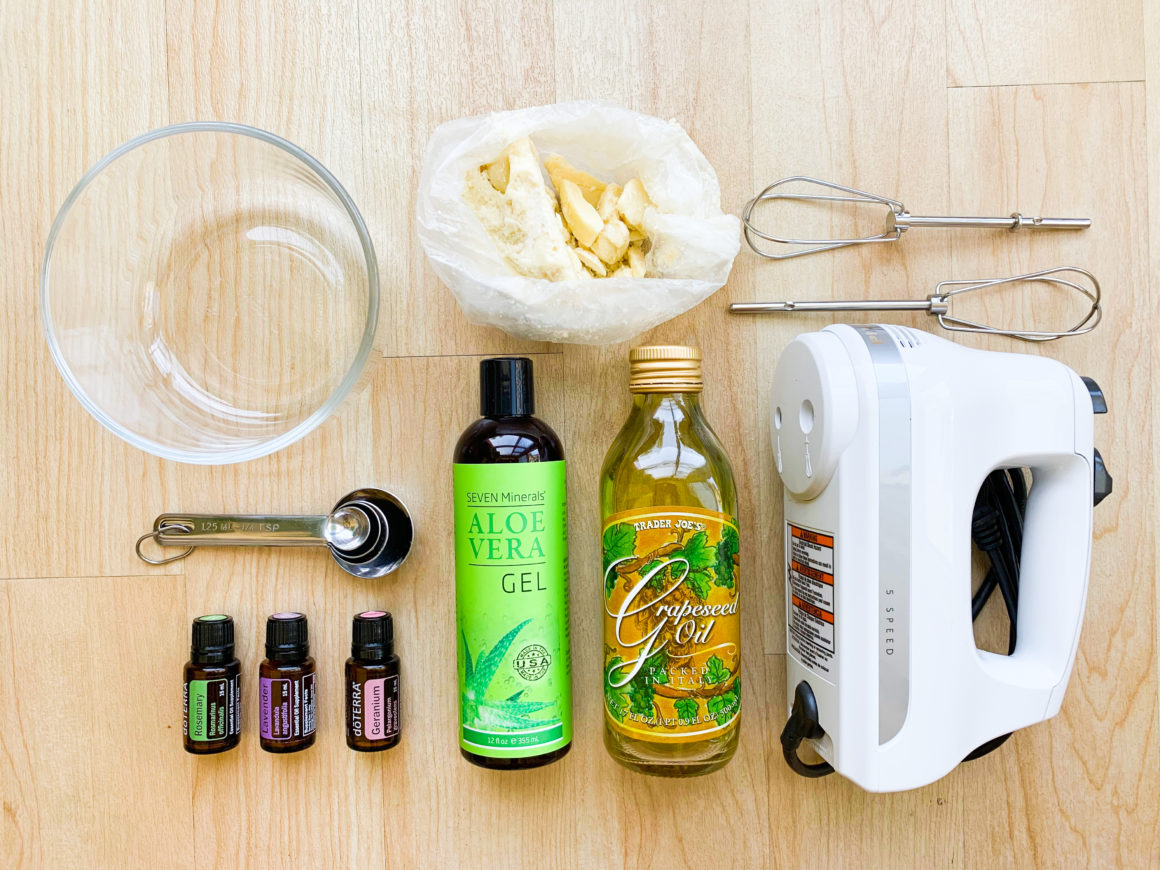 How to make leave-in conditioner at home - Ingredients