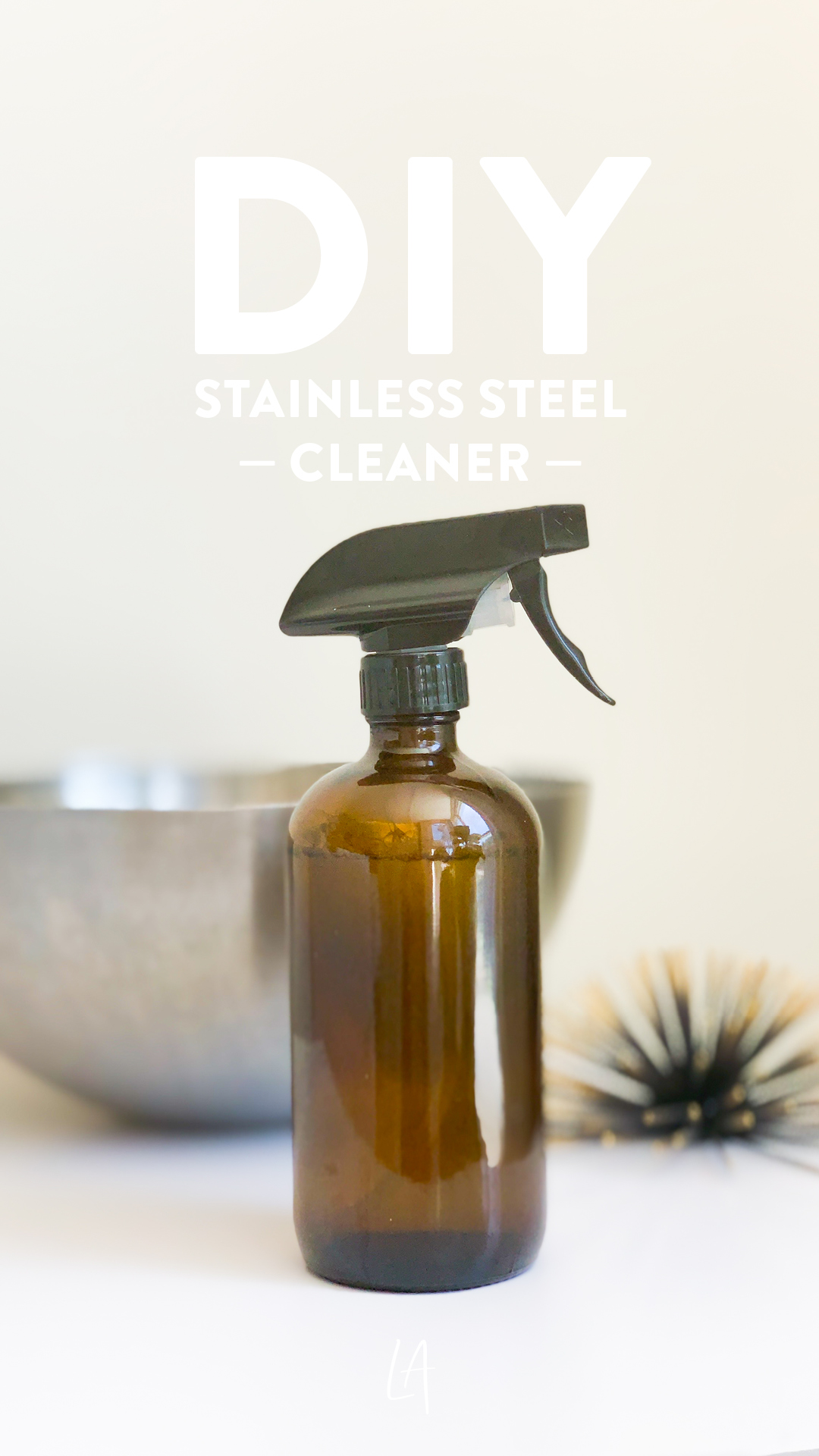 Make your own stainless steel cleaner