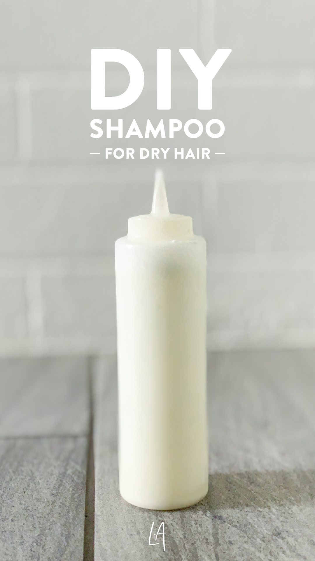 Natural shampoo for dry hair
