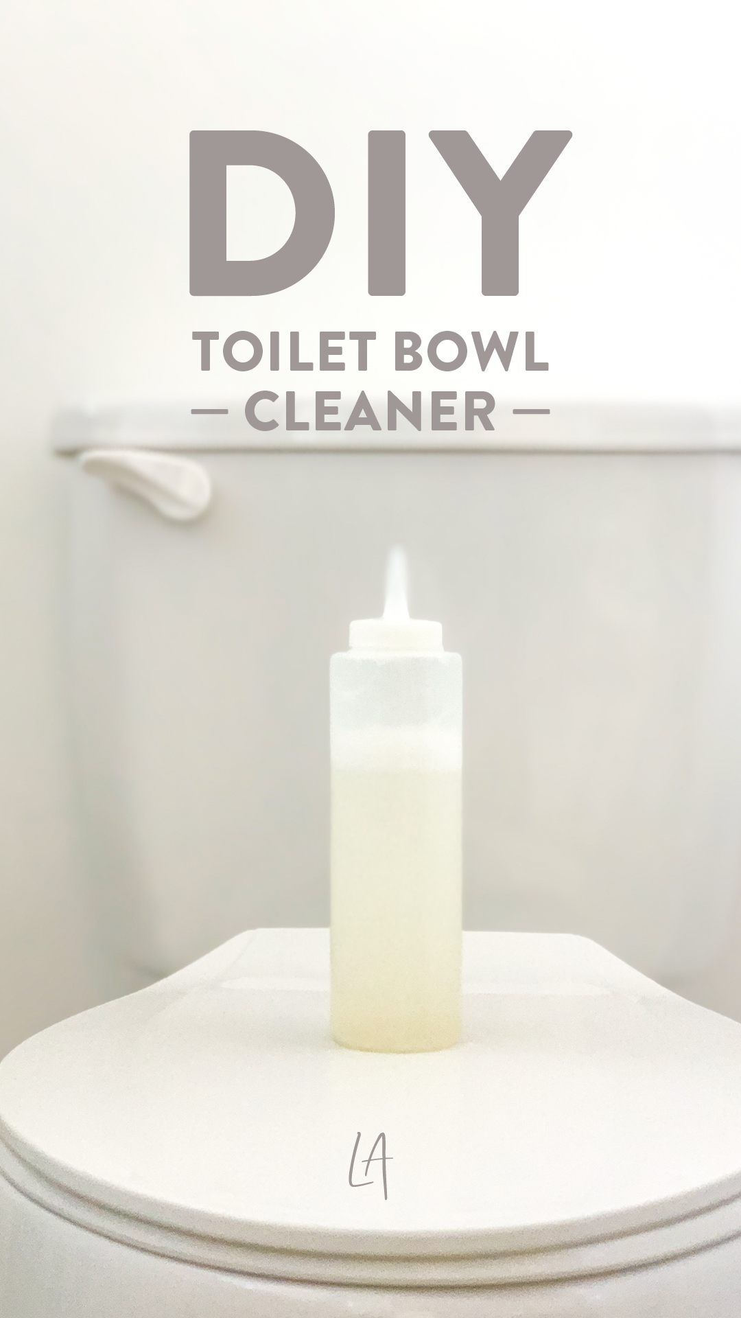 How I keep my toilet bowl clean