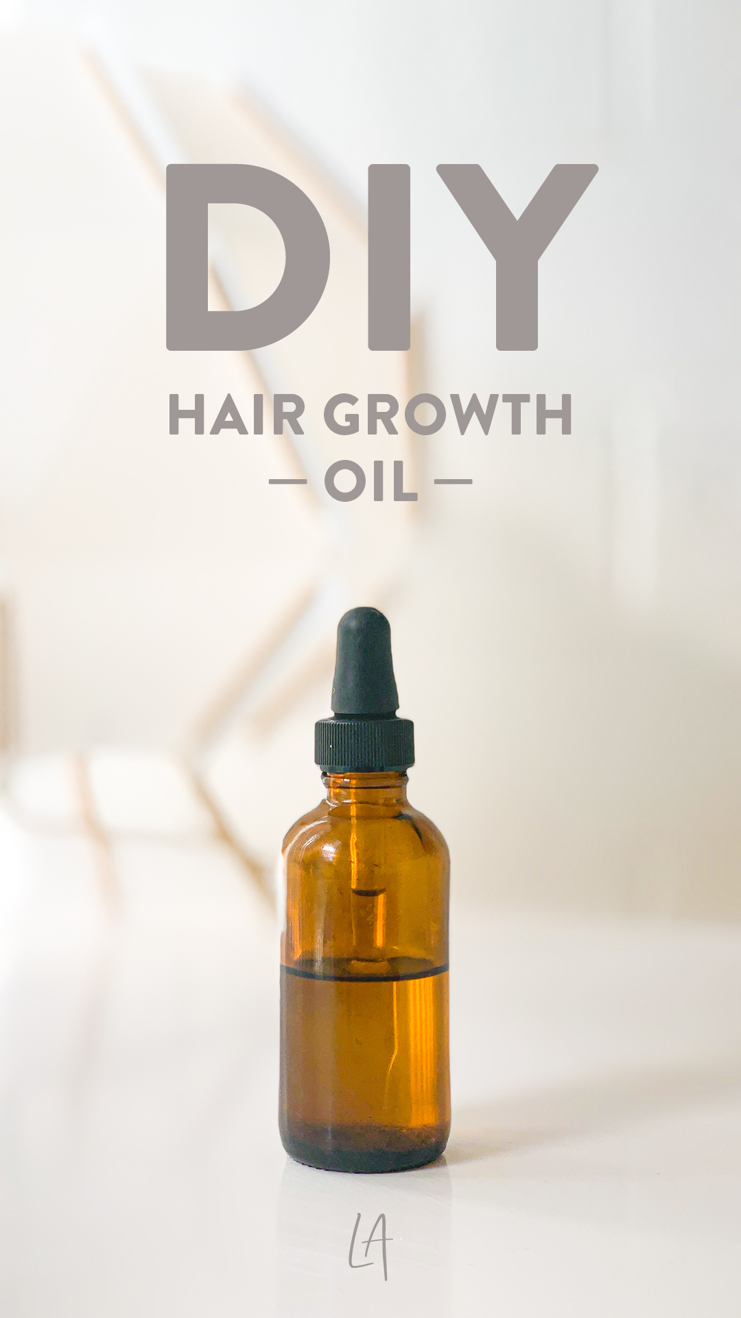 Make your own hair growth oil at home