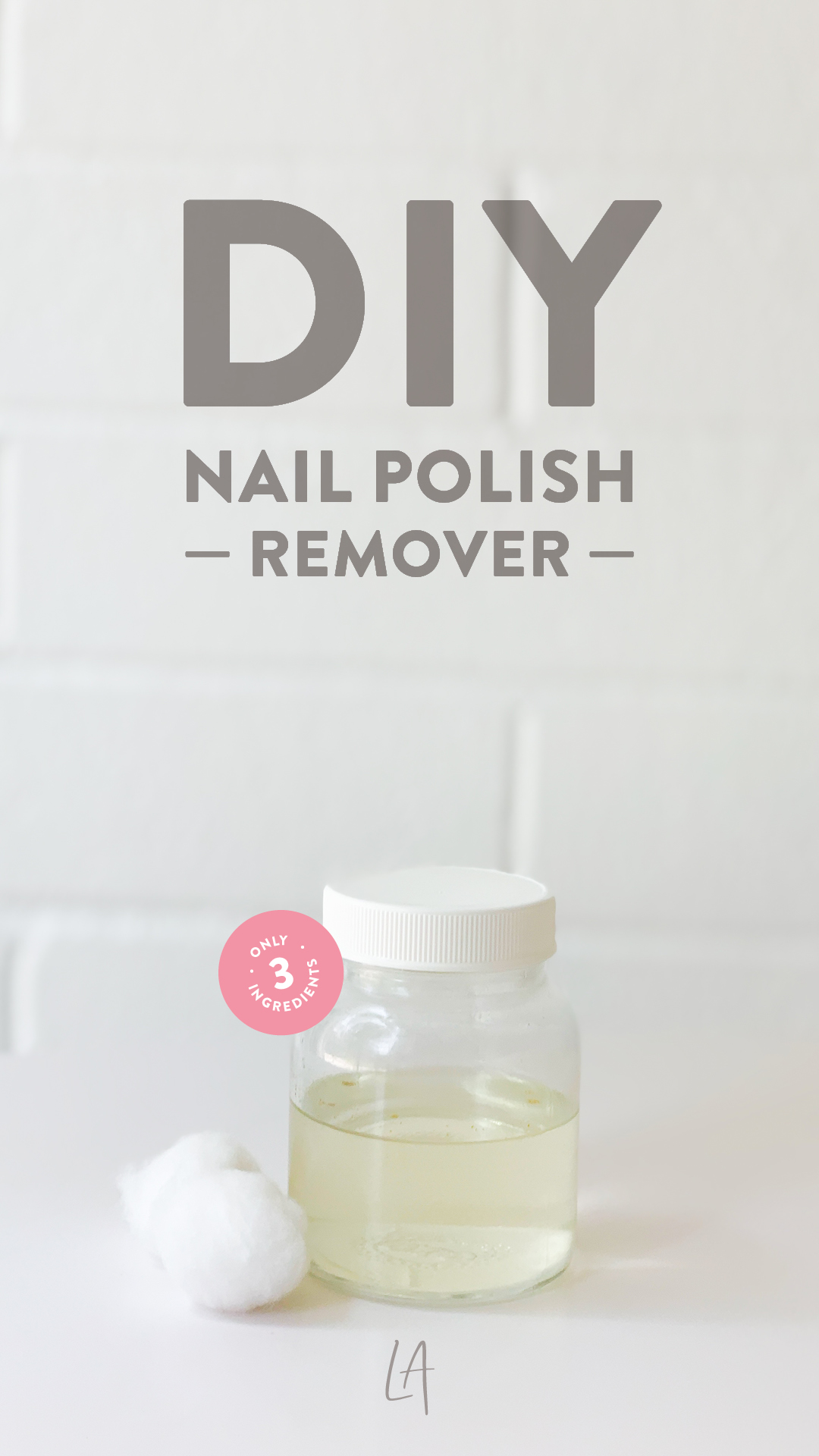 How to make my own nail polish remover at home