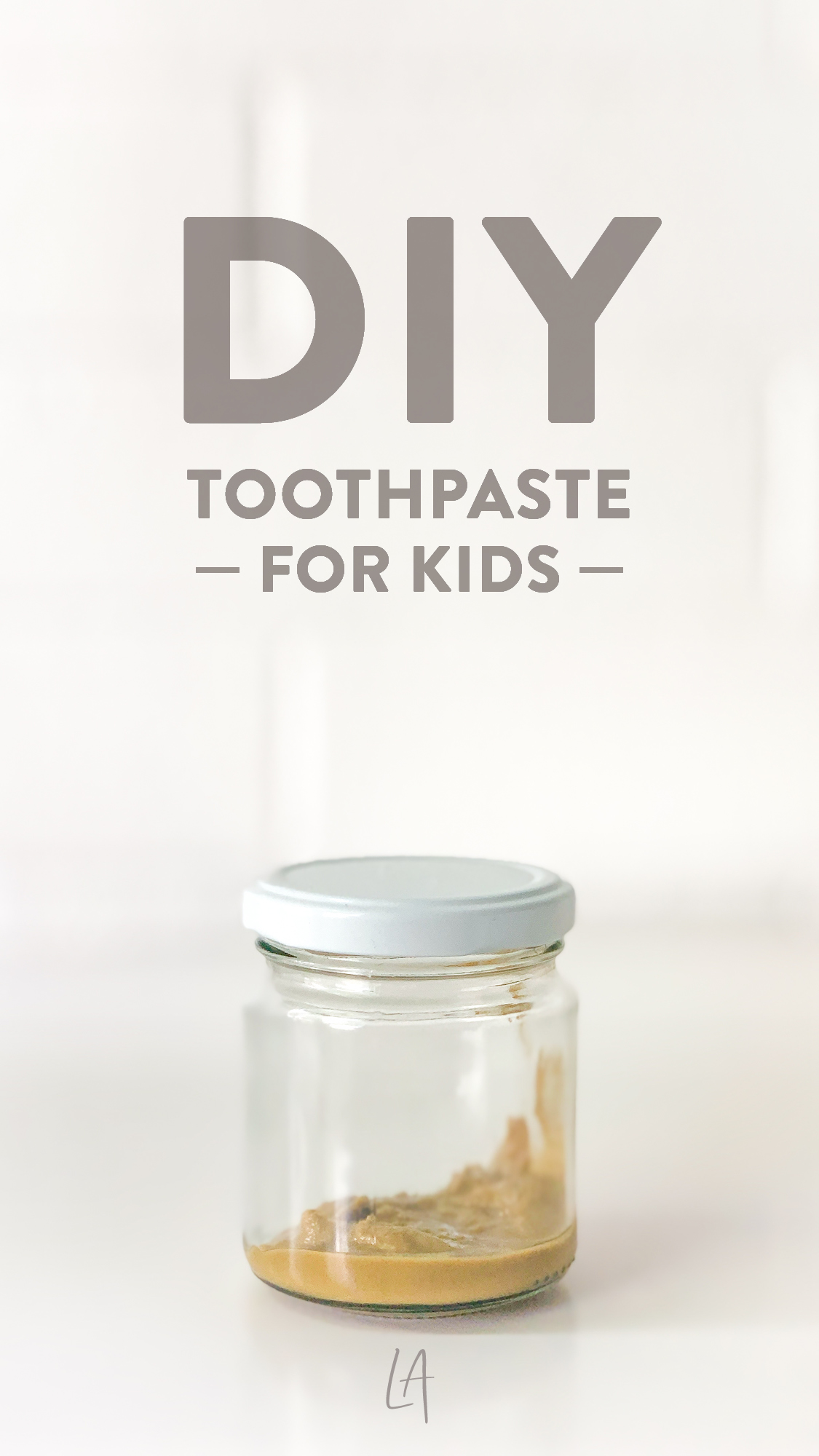 DIY Toothpaste for kids