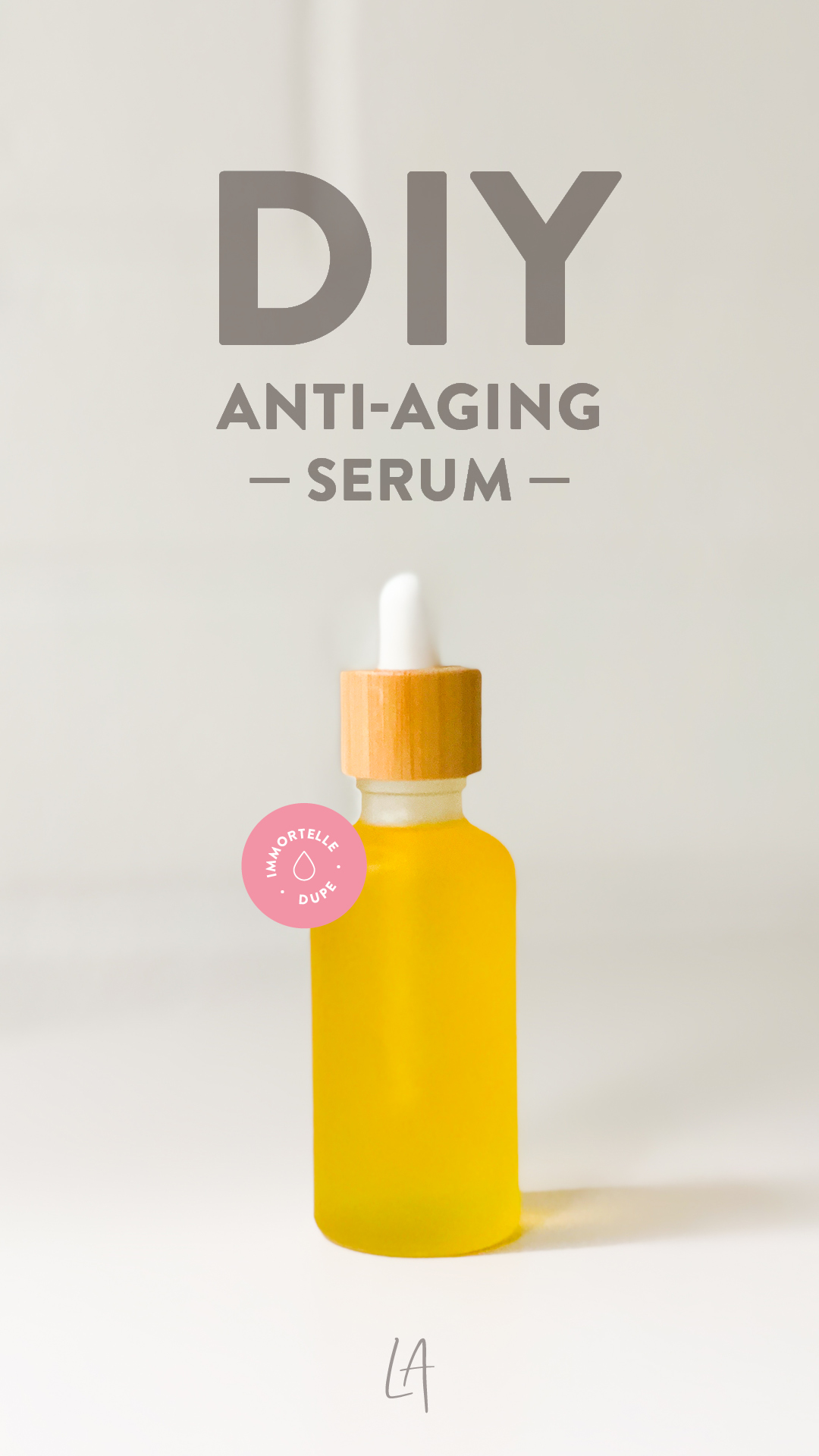 Anti aging facial serum recipe