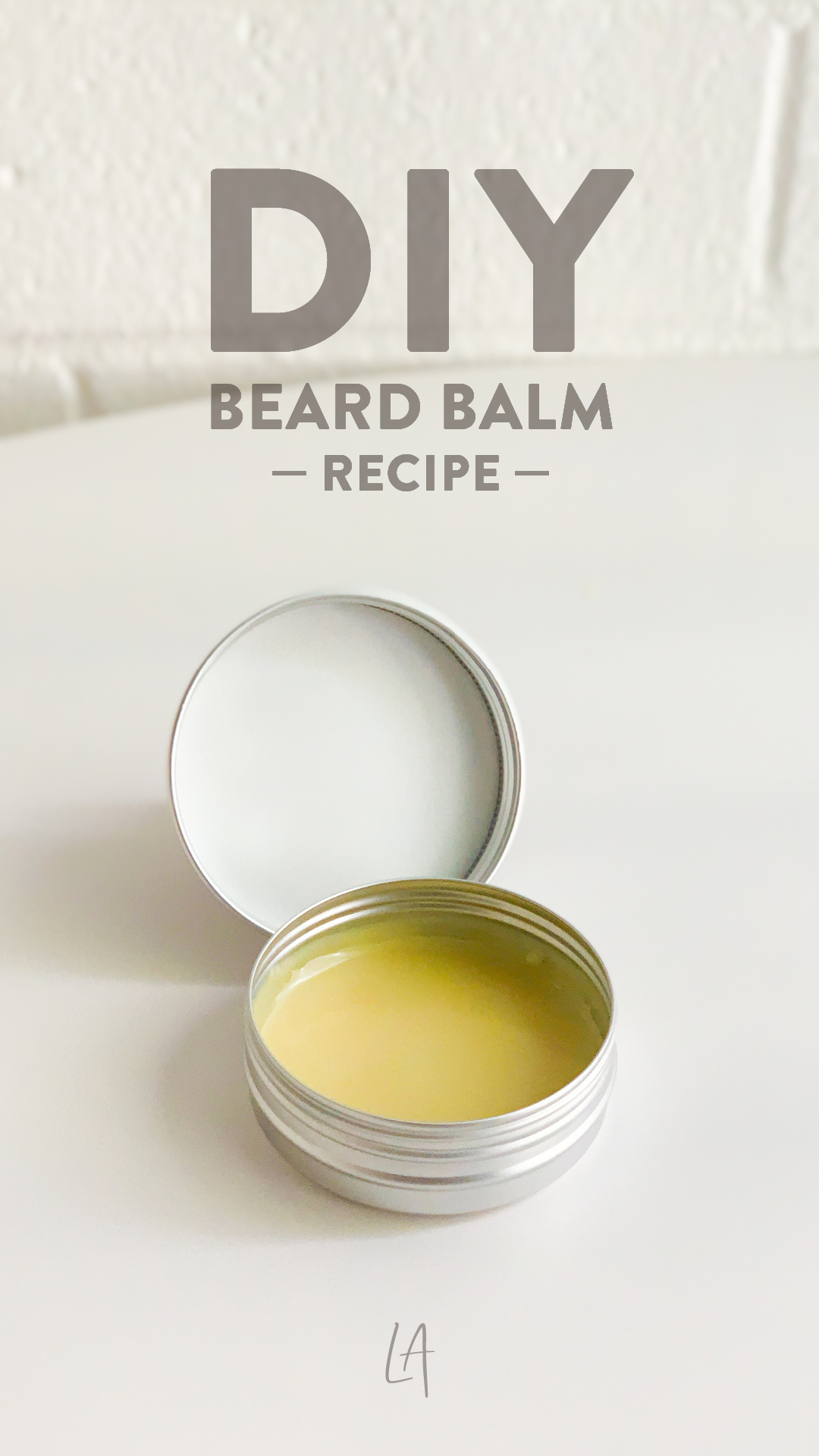 How to make beard balm at home