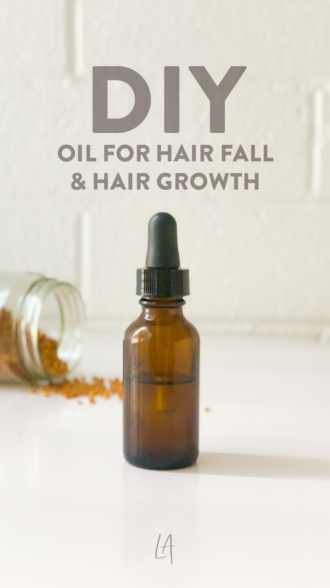 Homemade oil for hair fall and growth