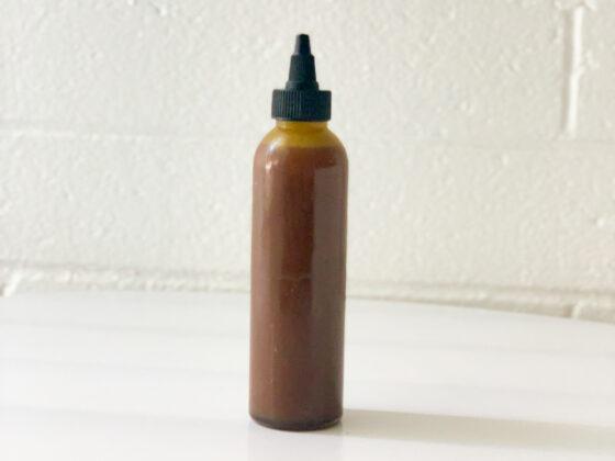 Make african black soap shampoo