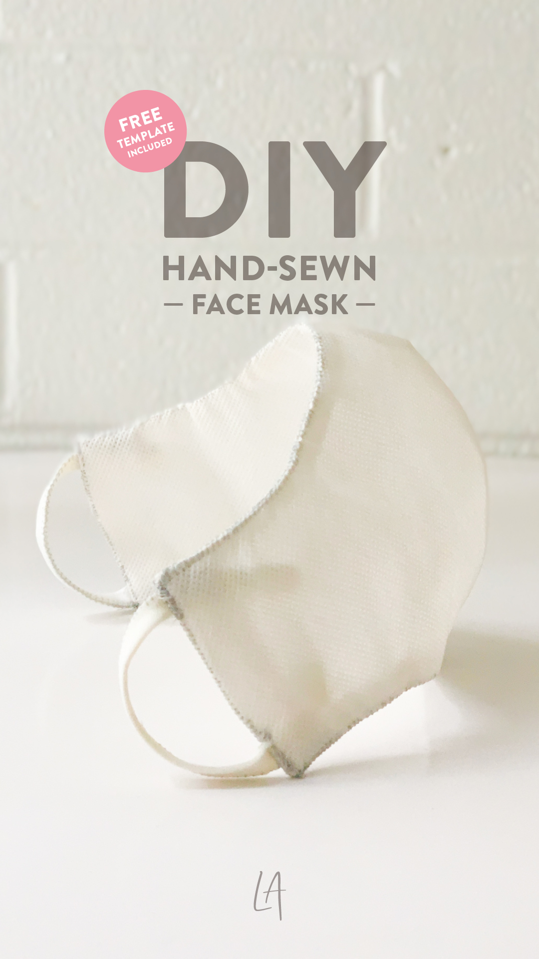 How to hand sew a face mask at home