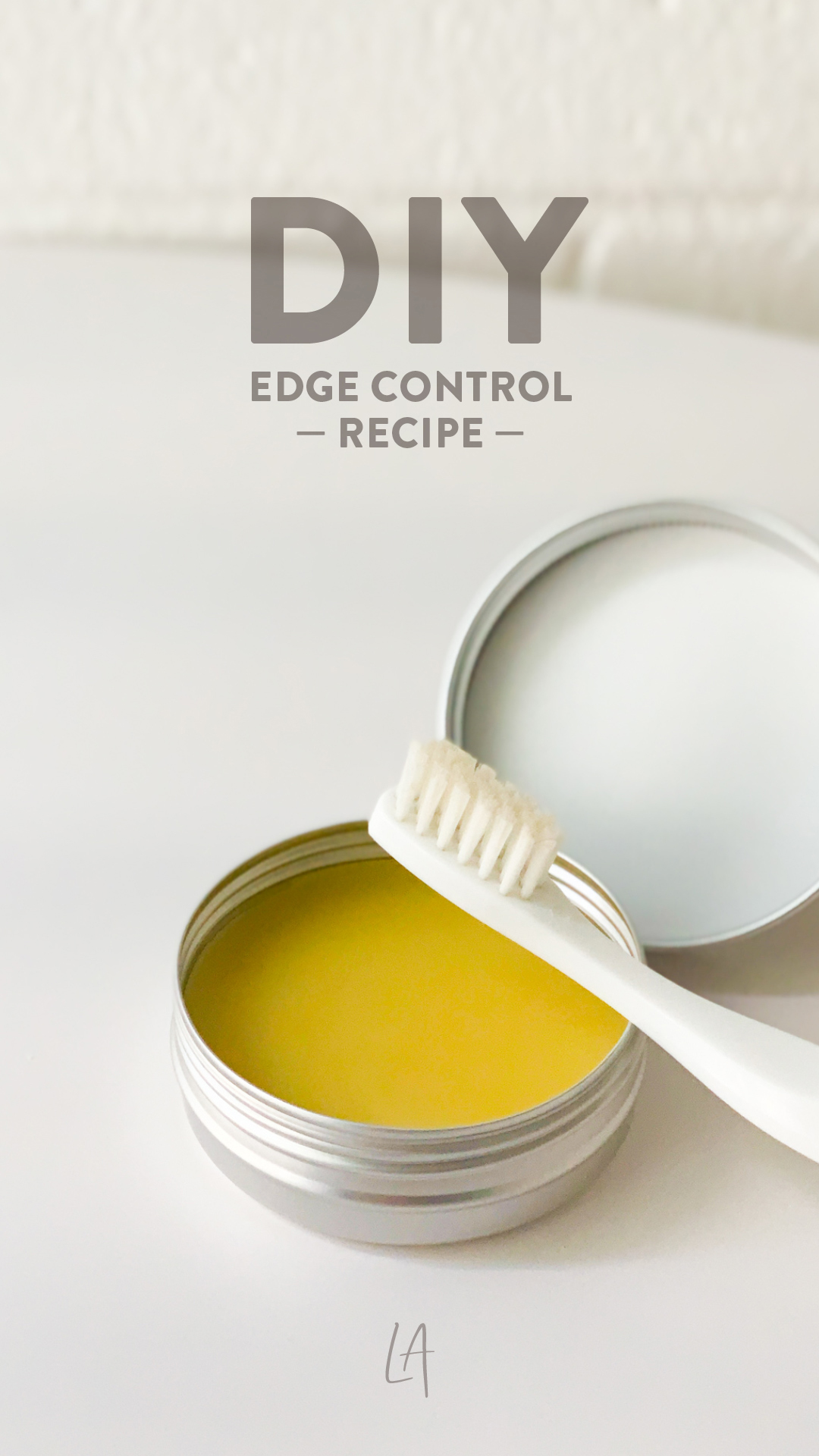 How to make your own edge control at home